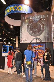 Capcom Booth at WonderCon Anaheim