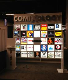 comiXology's Booth at WonderCon Anaheim