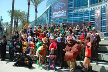DC Heroes at WonderCon Anaheim