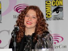 Rachelle Lefevre at WonderCon Anaheim