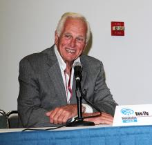 Ron Ely at WonderCon Anaheim