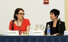 Jane Espenson and Gail Anne Hurd at WonderCon Anaheim