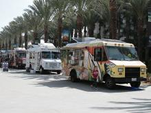 Plaza Food Trucks at WonderCon Anaheim