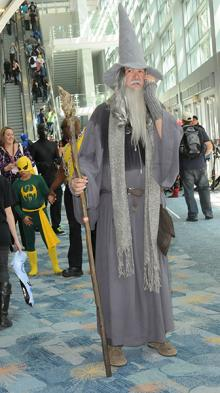 Gandalf at WonderCon Anaheim