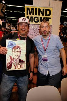 Matt Kindt at WonderCon Anaheim