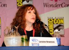 Laraine Newman at WonderCon Anaheim