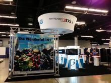 The Nintendo booth at WonderCon Anaheim
