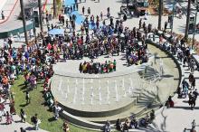 Anaheim Convention Center Plaza at WonderCon Anaheim