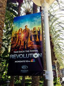 Revolution Banners at WonderCon Anaheim