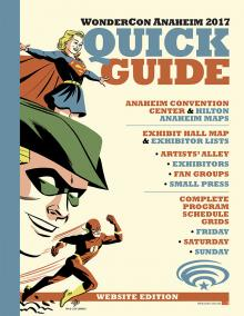 WonderCon Anaheim 2017 Quick Guide