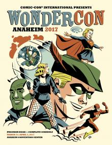 WonderCon Anaheim 2017 Program Book Cover Art by Michael Cho