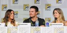 Arrow TV show panel at Comic-Con International 2013