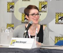 Vera Brosgol at Comic-Con International 2013