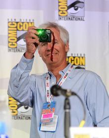 Chris Carter at Comic-Con International 2013