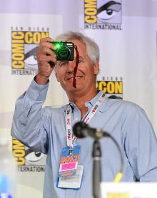 Chris Carter at Comic-Con International 2013