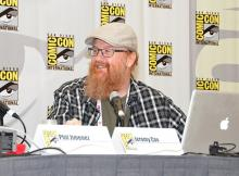 Jeromy Cox at Comic-Con International 2013