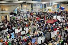 Comic-Con International 2013 Exhibit Hall