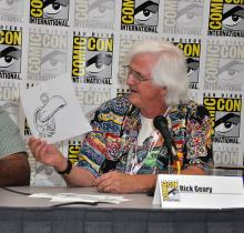 Rick Geary at Comic-Con International 2013