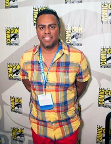 Georges Jeanty at Comic-Con International 2013