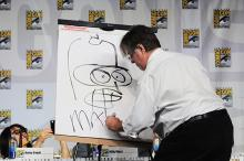 Matt Groening at Comic-Con International 2013