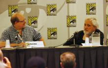 Mark Waid and Russ Heath at Comic-Con International 2013