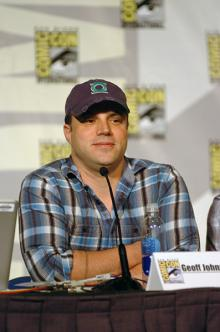 Geoff Johns at Comic-Con International 2013