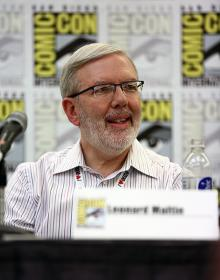 Leonard Maltin at Comic-Con International 2013