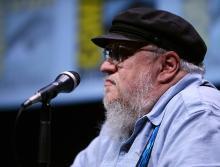 George R.R. Martin at Comic-Con International 2013
