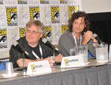 Scott McCloud and Jeff Smith at Comic-Con International 2013