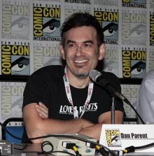 Dan Parent at Comic-Con International 2013
