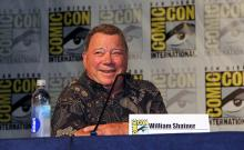 William Shatner at Comic-Con International 2013