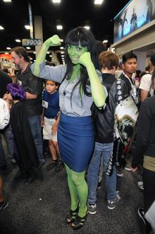 She-Hulk at Comic-Con International