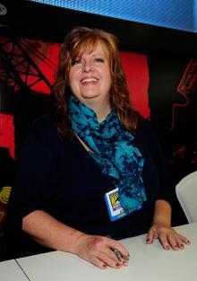 Gail Simone at Comic-Con International 2013