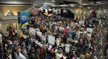 Small Press Area at Comic-Con International 2013