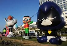 Teen Titans at Comic-Con International 2013