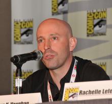 Brian K. Vaughan at Comic-Con International 2013