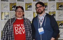 Mark Waid and Chris Samnee at Comic-Con International 2013