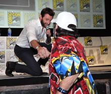The Wolverine at Comic-Con International 2013