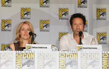 The X-Files Anniversary panel at Comic-Con International 2013