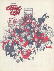 Comic-Con International Souvenir Book Cover 1976