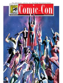 Comic-Con International Souvenir Book Covers