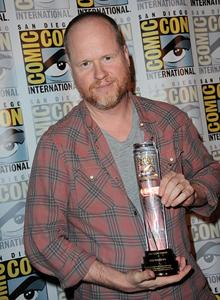 Joss Whedon with the 2014 Comic-Con International Icon Award