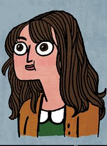 Kate Beaton at Comic-Con International 2016