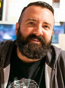 Ed Luce at Comic-Con International 2016