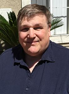 James Hudnall at Comic-Con International 2017, July 20–23 at the San Diego Convention Center