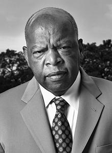 Rep. John Lewis at Comic-Con International, July 20–23 at the San Diego Convention Center