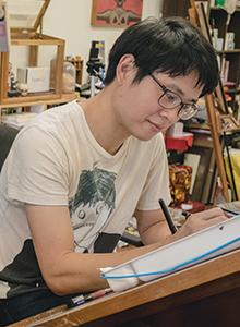 Sonny Liew at Comic-Con International 2017, July 20-23 at the San Diego Convention Center