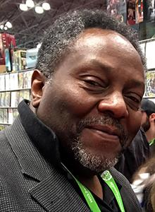 Alex Simmons at Comic-Con International, July 20–23 at the San Diego Convention Center