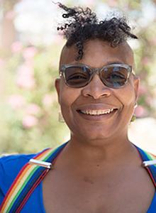 Nalo Hopkinson at Comic-Con International 2018, July 19-22 at the San Diego Convention Center