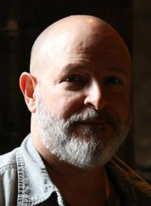 Mike Mignola at Comic-Con International 2018, July 19–22 at the San Diego Convention Center